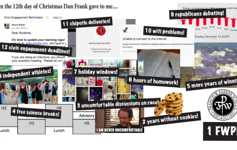 On the 12th Day of Christmas Dan Frank Gave to me...