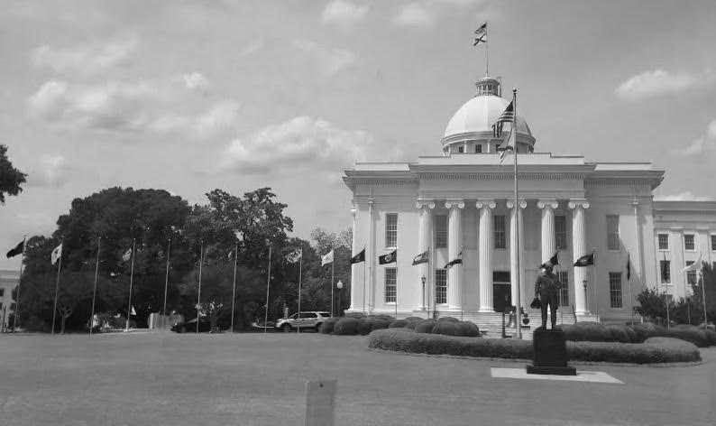 Students visited the Alabama Statehouse