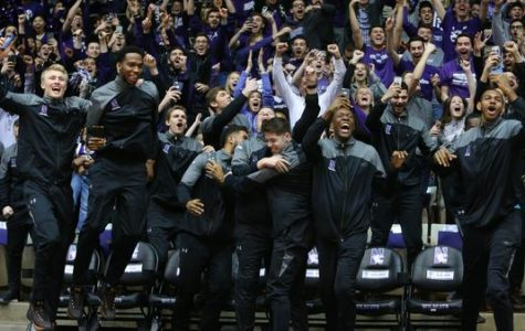 The Northwestern basketball team was excited about being chosen for the first time as a seed in the 'March Madness' tournament.