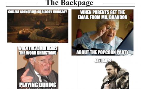 Parker Memes, Issue 5 – Volume CVII