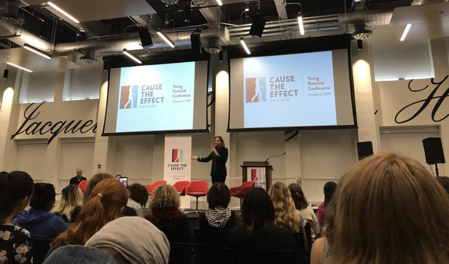 The 2018 Cause the Effect Young Feminist Conference.