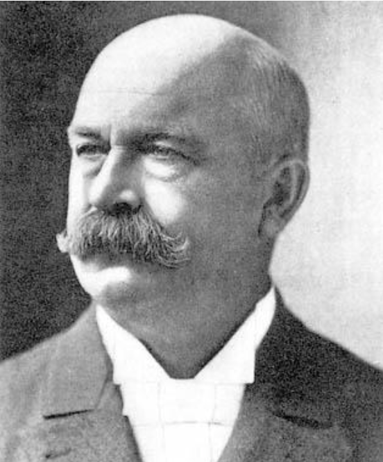 A portrait of Colonel Parker.