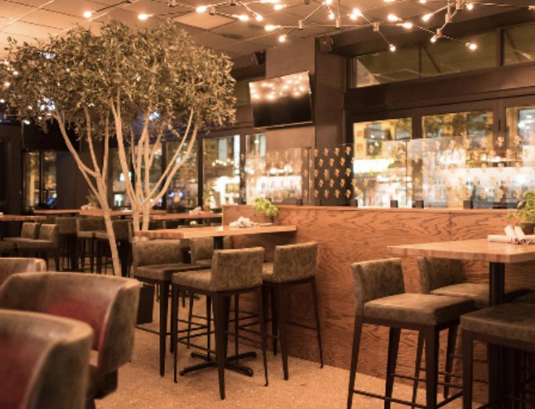 The interior of Casatis Pizza Vino. Photo from the restaurants Instagram page, @casatispizzavino.