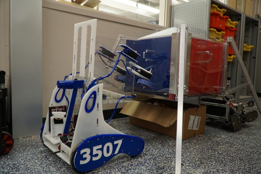 The robot used last year in the finale competition.