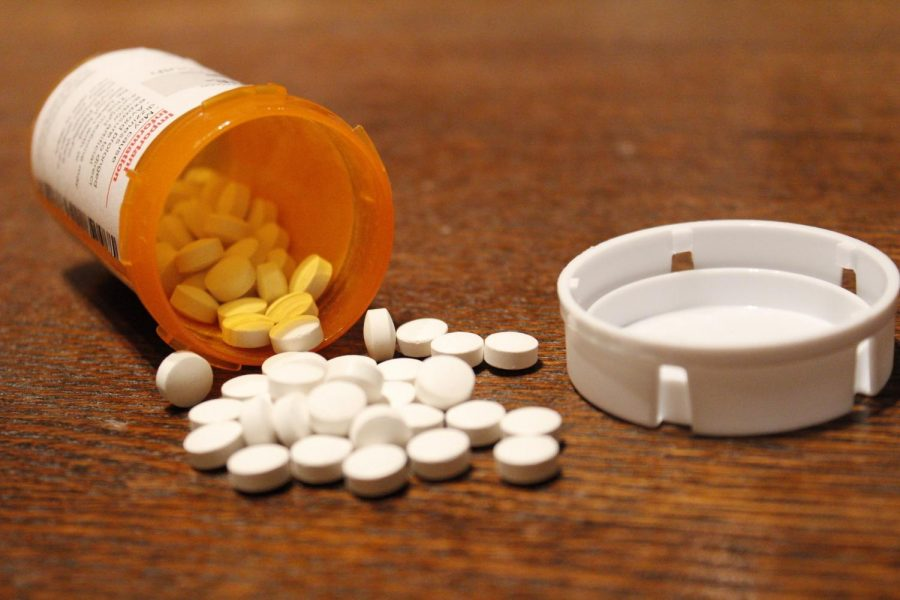 Adderall, a drug used to treat ADHD.