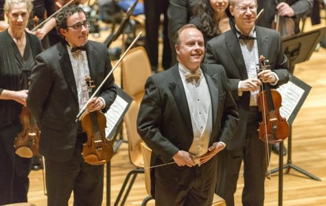 Conductor Stephen Alltop regularly conducts for the Champaign-Urbana Symphony. Photo courtesy of Illinois Public Media.