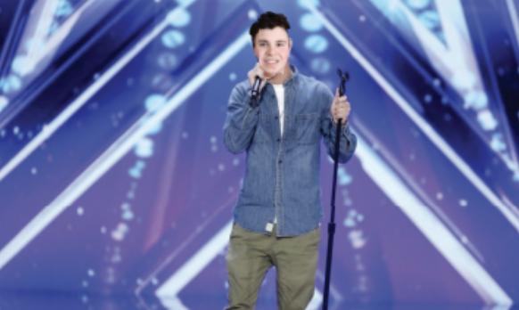 Alejandro Cuesta performs at America's Got Talent.