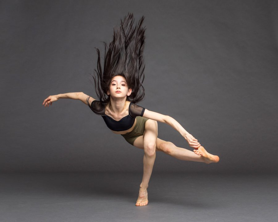 Sophomore Camille Freedman posing in her dance photoshoot. Photo courtesy of Camille Freedman.