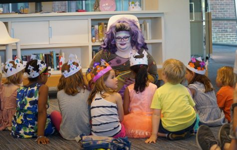 "Drag Queen Story Hour is a national organization which  strives to give ""kids glamorous, positive, and unabashedly queer role models."""
