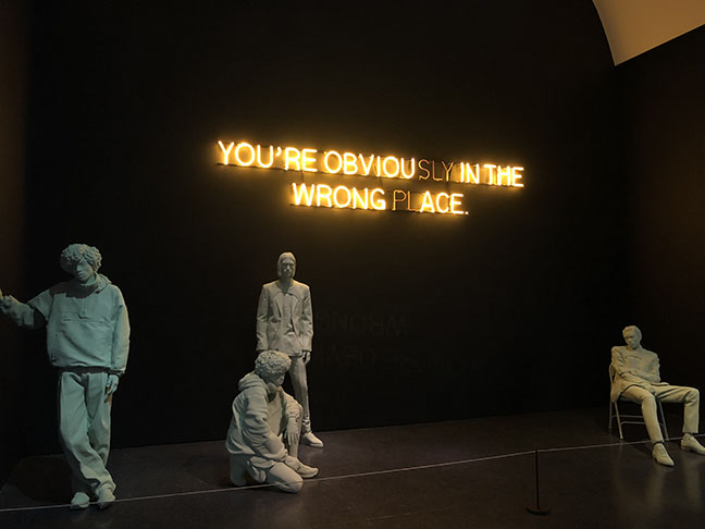 "Virgil Abloh: ""Figures Of Speech."" Photo courtesy of Abri Berg"