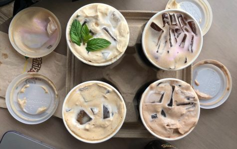 A look at some of the drinks available from Philz Coffee. Photo by Spencer O'Brien.