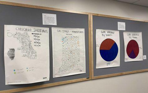 Senior Senna Gardner's independent study on gun violence.