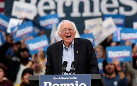 Democratic 2020 U.S. presidential candidate Senator Bernie Sanders holds a campaign rally in Detroit, Michigan. Photo courtesy of Reuters.