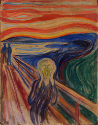 "Edvard Munch's 1910 painting ""The Scream,"" available for viewing online via the Google's Arts and Culture website virtual museum tour of the Munch Museum in Oslo, Norway. Photo courtesy of Munch Museum."