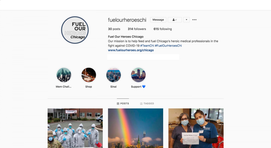 Fuel Our Heroes Chicago's Instagram Profile.