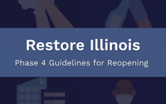 Illinois state government branding for its five-phase reopening plan. Image from Illinois Department of Commerce & Economic Opportunity.