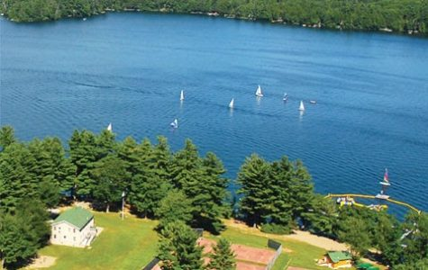 Camp Modin's beautiful waterfront was full of campers this summer. Photograph by Camp Modin.