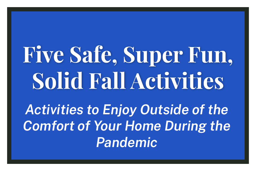 Five Safe, Super Fun, Solid Fall Activities