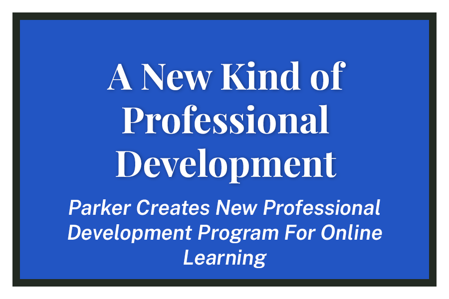 A New Kind of Professional Development