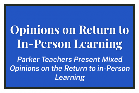 Opinions on Return to In-Person Learning