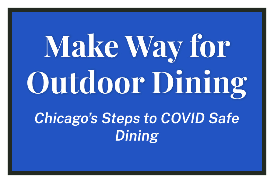 Make Way for Outdoor Dining