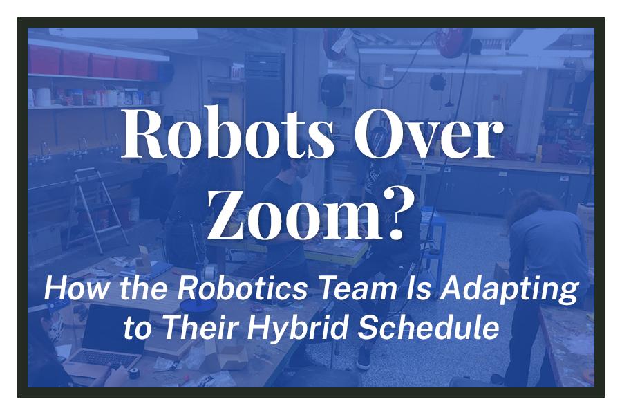 Robots Over Zoom?