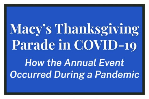 Macy's Thanksgiving Parade in COVID-19