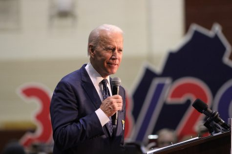Biden election victory -- President-elect Joe Biden at a rally in Norfolk, Virginia in March. Photo courtesy of NSPA Flickr Archives.