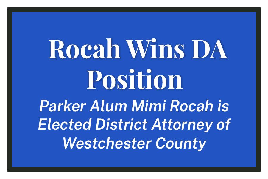 Rocah Wins DA Position