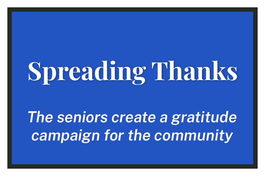 Spreading Thanks