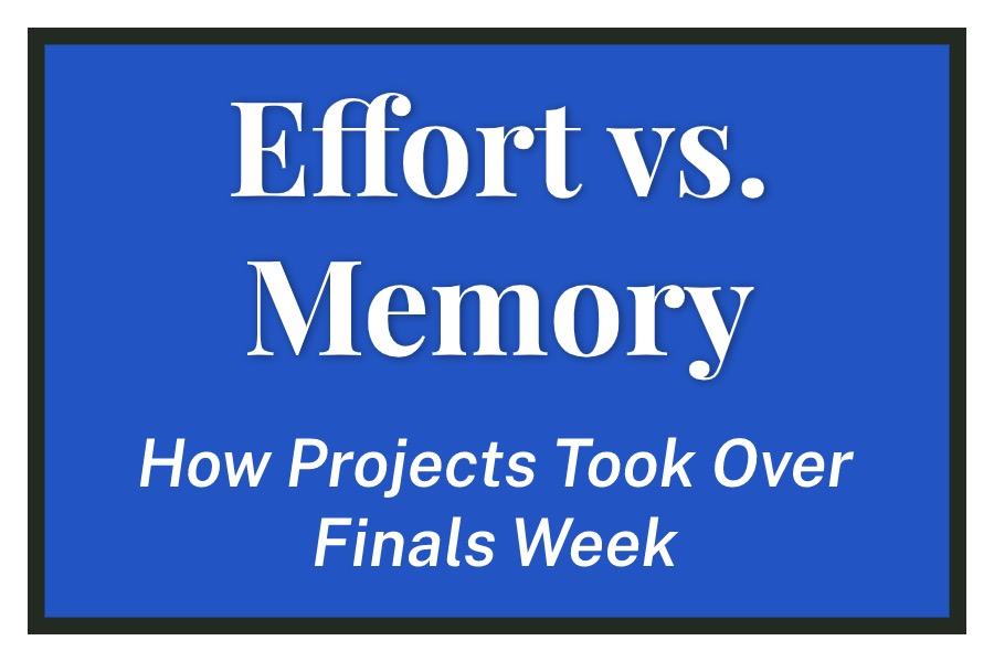 Effort vs. Memory