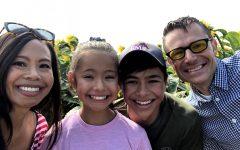 Mathews with her family. Photo courtesy of Gigi Mathews.