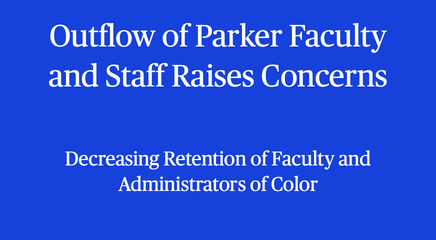 Outflow of Parker Faculty and Staff Raises Concerns